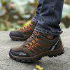 Men Outdoor Soft Breathable Hiking Sporty Athletic Shoes - BROWN