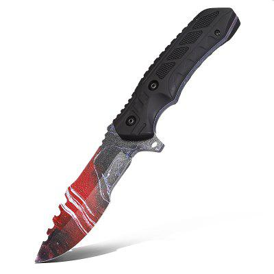 CTSmart L019 Straight Fixed Blade Knife with ABS handle