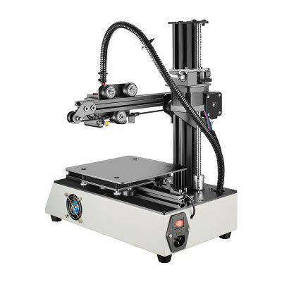 TEVO Michelangelo Portable Complete 3D Printer3D Printers, 3D Printer Kits<br>TEVO Michelangelo Portable Complete 3D Printer<br><br>Brand: Tevo<br>Connector Type: USB<br>Engraving Accuracy: 0.1mm<br>Engraving Area: 15 x 15 x 15cm<br>Frame material: Aluminum<br>Host computer software: Cura,Repetier-Host,Slic3r<br>Language: English<br>Layer thickness: 0.1mm<br>Material diameter: 1.75mm<br>Nozzle diameter: 0.4mm<br>Nozzle quantity: Single<br>Nozzle temperature: Room temperature to 260 degree<br>Package size: 36.00 x 32.50 x 38.50 cm / 14.17 x 12.8 x 15.16 inches<br>Package weight: 8.0000 kg<br>Packing Contents: 1 x Complete 3D Printer, 1 x Power Adapter<br>Packing Type: Assembled packing<br>Platform board: Aluminum Base<br>Print speed: 60 - 120mm/s<br>Product size: 32.50 x 29.00 x 37.50 cm / 12.8 x 11.42 x 14.76 inches<br>Product weight: 7.0000 kg<br>Supporting material: TPU, PLA<br>Type: Complete Machine<br>Working Power: 60W<br>XY-axis positioning accuracy: 0.01mm<br>Z-axis positioning accuracy: 0.002 mm