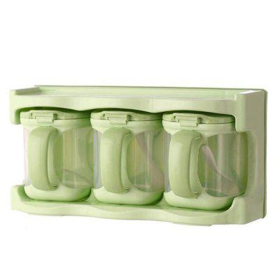 Plastic Multi-use Combo Seasoning Box 3pcs