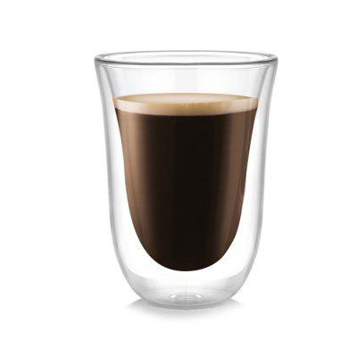 270ml Strong Double Wall Glass CupCoffee &amp; Tea Tools<br>270ml Strong Double Wall Glass Cup<br><br>Package Contents: 1 x Glass<br>Package size (L x W x H): 10.00 x 10.00 x 15.00 cm / 3.94 x 3.94 x 5.91 inches<br>Package weight: 0.1700 kg<br>Product size (L x W x H): 8.50 x 8.50 x 11.70 cm / 3.35 x 3.35 x 4.61 inches<br>Product weight: 0.1500 kg<br>Suitable for: KTV, Home, Bar<br>Type: Water, Tea, Milk, Fruit Juice, Coffee, Beer