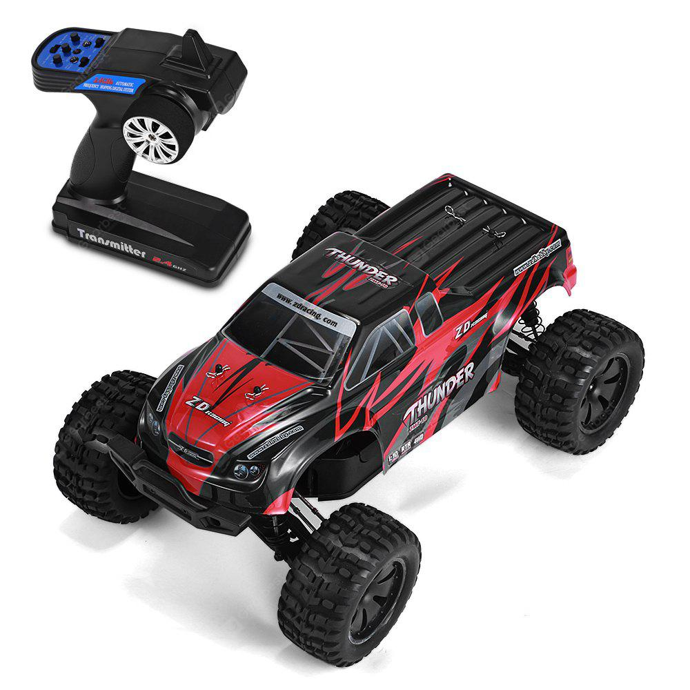 ZD Racing ZMT - 10 / 10427 - S / 9106 1/10 Brushless 4WD Monster Truck - RED