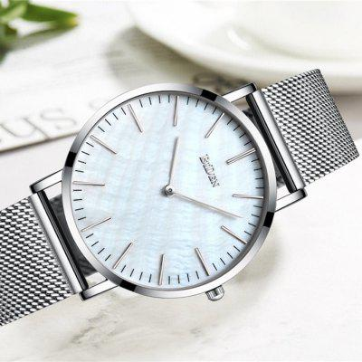 BIDEN B0054 - 1 Men Stereo Dial Steel Band Quartz WatchMens Watches<br>BIDEN B0054 - 1 Men Stereo Dial Steel Band Quartz Watch<br><br>Band material: Stainless Steel<br>Brand: BIDEN<br>Case material: Alloy<br>Clasp type: Magnetic Clasp<br>Dial size: 4 x 4 x 0.7 cm<br>Display type: Analog<br>Movement type: Quartz watch<br>Package Contents: 1 x Watch, 1 x English User Manual<br>Package size (L x W x H): 25.00 x 6.00 x 2.70 cm / 9.84 x 2.36 x 1.06 inches<br>Package weight: 0.0780 kg<br>Product size (L x W x H): 23.00 x 4.00 x 0.70 cm / 9.06 x 1.57 x 0.28 inches<br>Product weight: 0.0580 kg<br>Shape of the dial: Round<br>Watch mirror: Mineral glass<br>Watch style: Cool, Business, Fashion, Ultrathin, Casual<br>Watches categories: Men<br>Water resistance: 30 meters