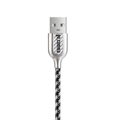 Gocomma 1m Micro USB CableChargers &amp; Cables<br>Gocomma 1m Micro USB Cable<br><br>Accessories type: Cable<br>Brand: Gocomma<br>Cable Length (cm): 100cm<br>Interface Type: USB 2.0, Micro USB<br>Material ( Cable&amp;Adapter): Zinc Alloy, Nylon, Carbon Fiber<br>Package Contents: 1 x 100cm USB Cable<br>Package size (L x W x H): 19.00 x 6.00 x 1.80 cm / 7.48 x 2.36 x 0.71 inches<br>Package weight: 0.0620 kg<br>Product size (L x W x H): 100.00 x 1.40 x 0.80 cm / 39.37 x 0.55 x 0.31 inches<br>Product weight: 0.0330 kg