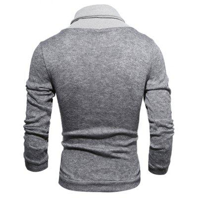 Men Stylish Splicing Long Sleeves Funnel Neck SweaterMens Sweaters &amp; Cardigans<br>Men Stylish Splicing Long Sleeves Funnel Neck Sweater<br><br>Material: Cotton, Polyester<br>Occasion: Daily Use, Going Out<br>Package Contents: 1 x Sweater<br>Package size: 30.00 x 25.00 x 2.00 cm / 11.81 x 9.84 x 0.79 inches<br>Package weight: 0.3200 kg<br>Product weight: 0.3000 kg<br>Style: Brief, Casual