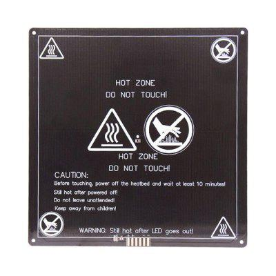 He3D MK3 Aluminum Plate Heat Bed for DIY 3D Printer 12V