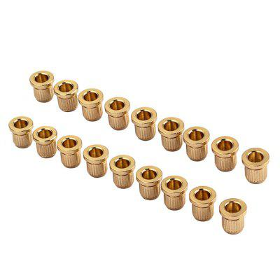 String Ferrules Bushings for Guitar 18pcs