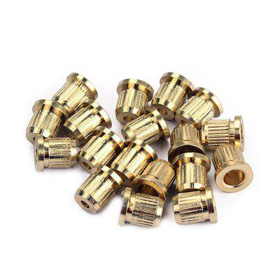 String Ferrules Bushings for Guitar 18pcsGuitar Parts<br>String Ferrules Bushings for Guitar 18pcs<br><br>Materials: Metal<br>Package Contents: 18 x Ferrule<br>Package size: 7.00 x 5.00 x 2.00 cm / 2.76 x 1.97 x 0.79 inches<br>Package weight: 0.0420 kg<br>Suitable for: Guitar<br>Type: Other