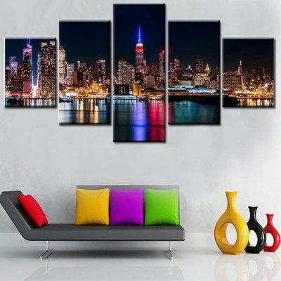 jingsheng Print Night Landscape Unframed for Decor 5PCSPainting<br>jingsheng Print Night Landscape Unframed for Decor 5PCS<br><br>Brand: Jingsheng<br>Craft: Print<br>Form: Five Panels<br>Material: Canvas<br>Package Contents: 5 x Print<br>Package size (L x W x H): 39.00 x 6.00 x 6.00 cm / 15.35 x 2.36 x 2.36 inches<br>Package weight: 0.3300 kg<br>Painting: Without Inner Frame<br>Product weight: 0.2600 kg<br>Shape: Vertical<br>Style: Landscape<br>Subjects: Landscape<br>Suitable Space: Bedroom,Cafes,Dining Room,Hotel,Living Room,Office