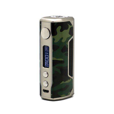 VZONE Cultura 100W Mod for E CigaretteTemperature Control Mods<br>VZONE Cultura 100W Mod for E Cigarette<br><br>Accessories type: MOD<br>Battery Cover Type: Clip-on<br>Battery Form Factor: 18650, 20700<br>Battery Quantity: 1pc ( not included )<br>Brand: Vzone<br>Material: Zinc Alloy, PC<br>Mod: Temperature Control Mod<br>Package Contents: 1 x Mod, 1 x USB Cable, 1 x English User Manual<br>Package size (L x W x H): 8.00 x 6.00 x 12.00 cm / 3.15 x 2.36 x 4.72 inches<br>Package weight: 0.2300 kg<br>Product size (L x W x H): 3.80 x 3.00 x 8.90 cm / 1.5 x 1.18 x 3.5 inches<br>Product weight: 0.1670 kg<br>Temperature Control Range: 200 - 600 Deg.F / 100 - 300 Deg.C