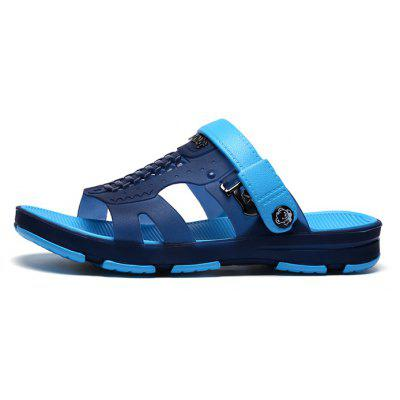 Men Stylish Cool Anti-slip Casual Beach SlippersMens Slippers<br>Men Stylish Cool Anti-slip Casual Beach Slippers<br><br>Closure Type: Slip-On<br>Contents: 1 x Pair of Shoes<br>Decoration: Hollow Out<br>Function: Slip Resistant<br>Materials: MD, TPU<br>Occasion: Shopping, Rainy Day, Party, Outdoor Clothing, Holiday, Beach, Casual, Daily<br>Outsole Material: MD<br>Package Size ( L x W x H ): 30.00 x 18.00 x 10.00 cm / 11.81 x 7.09 x 3.94 inches<br>Package weight: 0.4200 kg<br>Product weight: 0.4000 kg<br>Seasons: Spring,Summer<br>Style: Modern, Leisure, Fashion, Comfortable, Casual<br>Toe Shape: Open Toe<br>Type: Slippers<br>Upper Material: TPU