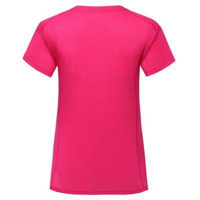 Solid Color Air T-shirtTees<br>Solid Color Air T-shirt<br><br>Collar: Round Neck<br>Material: Polyester, Spandex<br>Package Contents: 1 x T-shirt<br>Package size: 40.00 x 30.00 x 1.00 cm / 15.75 x 11.81 x 0.39 inches<br>Package weight: 0.1450 kg<br>Product weight: 0.1200 kg<br>Season: Summer<br>Sleeve Length: Short Sleeves