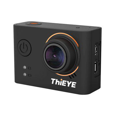 ThiEYE T3 4K WiFi Waterproof Action CameraAction Cameras<br>ThiEYE T3 4K WiFi Waterproof Action Camera<br><br>Anti-shake: Yes<br>Application: Bike, Extreme Sports<br>Audio System: Monophony<br>Battery Capacity (mAh): 1000mAh<br>Battery Type: Built-in<br>Brand: ThiEYE<br>Camera Pixel: 12MP<br>Camera Timer: Yes<br>Charge way: USB charge by PC<br>Charging Time: 2.5h<br>Chipset: Novatek 96660<br>Chipset Name: Novatek<br>Class Rating Requirements: Class 10 or Above<br>Image Format: JPEG<br>Interface Type: Mini USB, HDMI<br>ISO: Auto,ISO100,ISO1600,ISO200,ISO400,ISO800<br>Lens Diameter: F2.8 ( f = 3mm )<br>Loop-cycle Recording: Yes<br>Loop-cycle Recording Time: 2min,3min,5min,OFF<br>Max External Card Supported: SDHC 64G (not included)<br>Microphone: Built-in<br>Model: T3<br>Package Contents: 1 x Action Camera ( with 1000mAh Battery ), 1 x  Waterproof Case, 1 x Additional Skeleton Backdoor, 1 x Quick Release Buckle, 1 x Vertical Quick Release Buckle, 1 x Switch Support, 1 x Flat Adhesive M<br>Package size (L x W x H): 23.50 x 10.50 x 7.20 cm / 9.25 x 4.13 x 2.83 inches<br>Package weight: 0.5000 kg<br>Product size (L x W x H): 6.03 x 4.12 x 2.33 cm / 2.37 x 1.62 x 0.92 inches<br>Product weight: 0.0650 kg<br>Remote Control: Yes<br>Screen: With Screen<br>Screen resolution: 320x240<br>Screen size: 2.0inch<br>Screen type: TFT<br>Sensor: CMOS<br>Sensor size (inch): 1/2.3<br>Standby time: 2h<br>Time lapse: Yes<br>Type: Sports Camera<br>Type of Camera: 4K<br>Video format: H.264, MP4<br>Video Resolution: 1080P ( 1920 x 1080 ) ( 30fps ),1080P ( 1920 x 1080 ) 60fps,2.7K ( 2688 x 1520 ) 30fps,2K(2560 x 1440)30fps,4K (24fps),720P (120fps)<br>Water Resistant: 40m ( with a waterproof case )<br>Waterproof: Yes<br>Waterproof Rating: IP68<br>White Balance Mode: Daylight, Auto, Cloudy, Fluorescent, Tungsten<br>Wide Angle: 170 degree wide angle<br>WiFi Distance: 10m<br>Working Time: 90mins