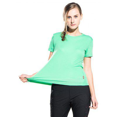Ultralight Quick Dry Solid Color Air T-shirtTees<br>Ultralight Quick Dry Solid Color Air T-shirt<br><br>Collar: Round Neck<br>Material: Polyester, Spandex<br>Package Contents: 1 x T-shirt<br>Package size: 40.00 x 30.00 x 1.00 cm / 15.75 x 11.81 x 0.39 inches<br>Package weight: 0.0850 kg<br>Product weight: 0.0600 kg<br>Season: Summer<br>Sleeve Length: Short Sleeves