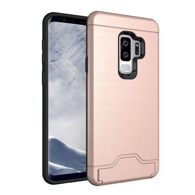 Card Slot Scratch-resistant Case for Samsung Galaxy S9 Plus