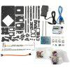 Acrylic Robot Claw Arm 4 Servos Kit - BLACK