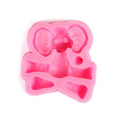Cartoon Elephant Design Cake Mold Silicone Candy Bakery ToolBaking &amp; Pastry Tools<br>Cartoon Elephant Design Cake Mold Silicone Candy Bakery Tool<br><br>Material: Silicone<br>Package Contents: 1 x Cake Mold<br>Package size (L x W x H): 9.00 x 9.00 x 3.00 cm / 3.54 x 3.54 x 1.18 inches<br>Package weight: 0.0900 kg<br>Product size (L x W x H): 8.00 x 8.00 x 2.00 cm / 3.15 x 3.15 x 0.79 inches<br>Product weight: 0.0780 kg<br>Type: Bakeware