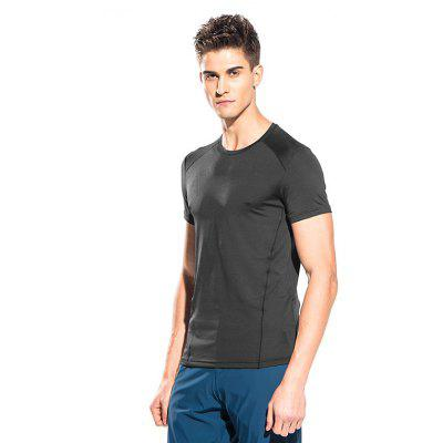 Lightweight Air T-shirtMens Short Sleeve Tees<br>Lightweight Air T-shirt<br><br>Material: Polyester, Spandex<br>Neckline: Round Neck<br>Package Content: 1 x T-shirt<br>Package size: 40.00 x 30.00 x 1.00 cm / 15.75 x 11.81 x 0.39 inches<br>Package weight: 0.1450 kg<br>Product weight: 0.1200 kg<br>Season: Summer<br>Sleeve Length: Short Sleeves<br>Style: Casual