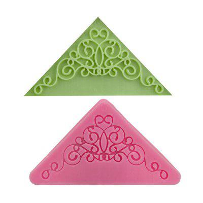 Facemile Beautiful Lace Design Cake Mold Silicone Bakery Tool