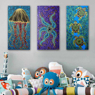 E - HOME Single Canvas Marine Animal Decorative PaintingPrints<br>E - HOME Single Canvas Marine Animal Decorative Painting<br><br>Brand: E-HOME<br>Craft: Print<br>Form: One Panel<br>Material: Canvas<br>Package Contents: 1 x Decorative Painting<br>Package size (L x W x H): 50.00 x 5.00 x 5.00 cm / 19.69 x 1.97 x 1.97 inches<br>Package weight: 0.2300 kg<br>Painting: Without Inner Frame<br>Product size (L x W x H): 40.00 x 80.00 x 0.20 cm / 15.75 x 31.5 x 0.08 inches<br>Product weight: 0.1000 kg<br>Shape: Vertical<br>Style: Modern Style<br>Subjects: Animal<br>Suitable Space: Bedroom,Cafes,Corridor,Dining Room,Hallway,Hotel,Kids Room,Living Room,Office