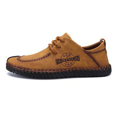 Men Classic Stitching Crash Toe Casual Oxford ShoesMen's Oxford<br>Men Classic Stitching Crash Toe Casual Oxford Shoes<br><br>Closure Type: Lace-Up<br>Contents: 1 x Pair of Shoes, 1 x Box<br>Function: Slip Resistant<br>Materials: Rubber, Microfiber<br>Occasion: Tea Party, Shopping, Outdoor Clothing, Office, Party, Casual, Daily, Holiday<br>Outsole Material: Rubber<br>Package Size ( L x W x H ): 31.00 x 21.00 x 13.00 cm / 12.2 x 8.27 x 5.12 inches<br>Package weight: 0.7100 kg<br>Pattern Type: Solid<br>Product weight: 0.5600 kg<br>Seasons: Autumn,Spring<br>Style: Modern, Leisure, Fashion, Comfortable, Casual, Business<br>Toe Shape: Round Toe<br>Type: Casual Leather Shoes<br>Upper Material: Microfiber