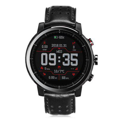 Xiaomi Huami Amazfit Smartwatch 2S Running WatchSmart Watches<br>Xiaomi Huami Amazfit Smartwatch 2S Running Watch<br><br>Alert type: Vibration<br>Anti-lost: Yes<br>Band material: Leather<br>Band size: 23 x 2.2cm<br>Battery  Capacity: 280mAh<br>Bluetooth calling: Callers name display,Phone call reminder<br>Bluetooth Version: Bluetooth 4.2<br>Brand: Xiaomi<br>Case material: Stainless Steel<br>Charging Time: About 2hours<br>Compatability: Android 4.4 / iOS 9.0 and above systems<br>Compatible OS: Android, IOS<br>Dial size: 3.5 x 3.5 x 1.5cm<br>Find phone: Yes<br>Groups of alarm: 3<br>Health tracker: Sleep monitor<br>IP rating: IP57<br>Language: Simplified Chinese,Traditional Chinese<br>Locking screen: 1<br>Messaging: Message reminder<br>Notification: Yes<br>Notification type: Wechat, WhatsApp, Facebook, Twitter, Skype, Line, G-mail<br>Operating mode: Press button<br>Other Function: Calendar, Waterproof, Bluetooth, Alarm<br>Package Contents: 1 x Smart Watch, 1 x Charging Dock, 1 x Chinese Manual<br>Package size (L x W x H): 12.00 x 12.00 x 10.00 cm / 4.72 x 4.72 x 3.94 inches<br>Package weight: 0.5370 kg<br>People: Female table,Male table<br>Product size (L x W x H): 23.00 x 3.50 x 1.50 cm / 9.06 x 1.38 x 0.59 inches<br>Product weight: 0.0600 kg<br>RAM: 512MB<br>Remote control function: Remote Camera<br>ROM: 4GB<br>Screen: OLED<br>Shape of the dial: Round<br>Standby time: 5 days<br>Type of battery: Polymer Li-ion Battery<br>Waterproof: Yes