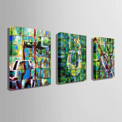 E - HOME Unframed Red Wine Glass Canvas Print 3pcsPrints<br>E - HOME Unframed Red Wine Glass Canvas Print 3pcs<br><br>Brand: E-HOME<br>Craft: Print<br>Form: Three Panels<br>Material: Canvas<br>Package Contents: 3 x Print<br>Package size (L x W x H): 70.00 x 5.00 x 5.00 cm / 27.56 x 1.97 x 1.97 inches<br>Package weight: 0.7000 kg<br>Painting: Without Inner Frame<br>Product size (L x W x H): 60.00 x 80.00 x 0.20 cm / 23.62 x 31.5 x 0.08 inches<br>Product weight: 0.4200 kg<br>Shape: Vertical<br>Style: Modern / Contemporary<br>Subjects: Others<br>Suitable Space: Bedroom,Dining Room,Living Room