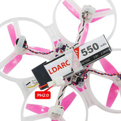 KingKong / LDARC TINY 8X FPV Drone BNF Advanced VersionMicro Brushed Racer<br>KingKong / LDARC TINY 8X FPV Drone BNF Advanced Version<br><br>Brand: KingKong<br>Package Contents: 1 x RC Drone, 3 x 3.8V 550mAh 50C Battery, 1 x TINY Case Charger, 1 x TINY Meter 1S, 3 x Canopy, 12 x Propeller, 1 x Propeller Tool, 2 x Cable, 1 x Receiver<br>Package size (L x W x H): 27.50 x 20.70 x 9.00 cm / 10.83 x 8.15 x 3.54 inches<br>Package weight: 0.6330 kg<br>Product size (L x W x H): 8.50 x 8.50 x 3.00 cm / 3.35 x 3.35 x 1.18 inches<br>Product weight: 0.0402 kg<br>Type: Frame Kit
