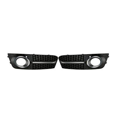 Car Grille Chrome Cover for Audi A4 B8 2008 - 2011 1 Pair