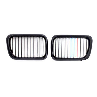 Car Grille Chrome Cover Right Left Front 1 Pair