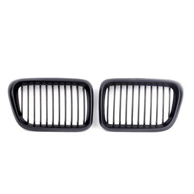 Car Grille Chrome Cover Shell Right Left Front 1 Pair