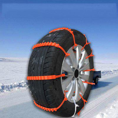 Tire Chains Anti-slip Snow Mud Sand for Car Truck 2PCS