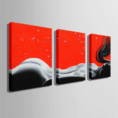 E - HOME Unframed Naked Lady Canvas Print 3pcsPrints<br>E - HOME Unframed Naked Lady Canvas Print 3pcs<br><br>Brand: E-HOME<br>Craft: Print<br>Form: Three Panels<br>Material: Canvas<br>Package Contents: 3 x Print<br>Package size (L x W x H): 60.00 x 5.00 x 5.00 cm / 23.62 x 1.97 x 1.97 inches<br>Package weight: 0.5000 kg<br>Painting: Without Inner Frame<br>Product size (L x W x H): 50.00 x 70.00 x 0.20 cm / 19.69 x 27.56 x 0.08 inches<br>Product weight: 0.3000 kg<br>Shape: Vertical<br>Style: Modern/Contemporary<br>Subjects: People<br>Suitable Space: Bedroom,Dining Room,Living Room