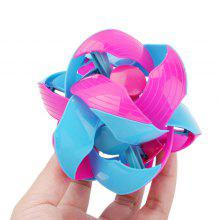 WUIBN Throw Color-flipping Bendy Ball Magic Kids Toy