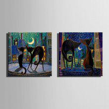 E-HOME Cat Hanging Canvas Wall Art  coupons