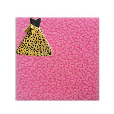 Facemile Leopard Print Style Silicone Chocolate Cake Mold