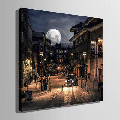E - HOME LED Luminous Prints Street Nightscape Wall ArtPrints<br>E - HOME LED Luminous Prints Street Nightscape Wall Art<br><br>Brand: E-HOME<br>Craft: Print<br>Form: One Panel<br>Material: Canvas<br>Package Contents: 1 x Print<br>Package size (L x W x H): 45.00 x 45.00 x 6.00 cm / 17.72 x 17.72 x 2.36 inches<br>Package weight: 1.0000 kg<br>Painting: Without Inner Frame<br>Product size (L x W x H): 40.00 x 40.00 x 2.40 cm / 15.75 x 15.75 x 0.94 inches<br>Product weight: 0.8000 kg<br>Shape: Square<br>Style: Modern<br>Subjects: Landscape<br>Suitable Space: Living Room