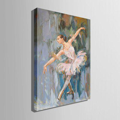 E - HOME Canvas Dancer Oil Painting Hanging Wall ArtOil Paintings<br>E - HOME Canvas Dancer Oil Painting Hanging Wall Art<br><br>Brand: E-HOME<br>Craft: Oil Painting<br>Form: One Panel<br>Material: Canvas<br>Package Contents: 1 x Oil Painting<br>Package size (L x W x H): 50.00 x 5.00 x 5.00 cm / 19.69 x 1.97 x 1.97 inches<br>Package weight: 0.4000 kg<br>Painting: Without Inner Frame<br>Product size (L x W x H): 40.00 x 60.00 x 0.20 cm / 15.75 x 23.62 x 0.08 inches<br>Product weight: 0.2000 kg<br>Shape: Vertical<br>Style: Modern<br>Subjects: Figure Painting<br>Suitable Space: Bedroom,Cafes,Dining Room,Hotel,Kitchen,Living Room,Office