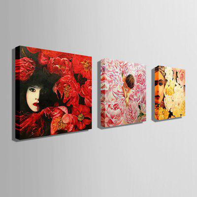 E - HOME Canvas Prints Women Hanging Wall Art 3PCSPrints<br>E - HOME Canvas Prints Women Hanging Wall Art 3PCS<br><br>Brand: E-HOME<br>Craft: Print<br>Form: Three Panels<br>Material: Canvas<br>Package Contents: 3 x Print<br>Package size (L x W x H): 70.00 x 5.00 x 5.00 cm / 27.56 x 1.97 x 1.97 inches<br>Package weight: 0.5000 kg<br>Painting: Without Inner Frame<br>Product size (L x W x H): 60.00 x 60.00 x 0.20 cm / 23.62 x 23.62 x 0.08 inches<br>Product weight: 0.3000 kg<br>Shape: Square<br>Style: Modern<br>Subjects: Figure Painting<br>Suitable Space: Living Room