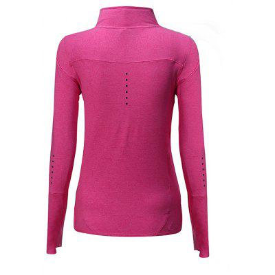 BARBOK Turtleneck Sports T-shirtweight lifting clothes<br>BARBOK Turtleneck Sports T-shirt<br><br>Brand: BARBOK<br>Features: Breathable, High elasticity, Quick Dry<br>Material: Spandex, Polyester<br>Package Content: 1 x T-shirt<br>Package size: 36.00 x 27.00 x 2.00 cm / 14.17 x 10.63 x 0.79 inches<br>Package weight: 0.2500 kg<br>Product weight: 0.2100 kg<br>Types: Long Sleeves