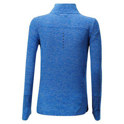 BARBOK Breathable Long Sleeves Sports T-shirtweight lifting clothes<br>BARBOK Breathable Long Sleeves Sports T-shirt<br><br>Brand: BARBOK<br>Features: Breathable, High elasticity, Quick Dry<br>Gender: Women<br>Material: Spandex, Polyester<br>Package Content: 1 x T-shirt<br>Package size: 36.00 x 27.00 x 2.00 cm / 14.17 x 10.63 x 0.79 inches<br>Package weight: 0.2500 kg<br>Product weight: 0.2100 kg<br>Types: Long Sleeves