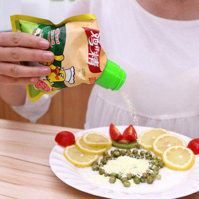 Snack Sealing Bottle Cap - 5pcs  -  COLORMIX