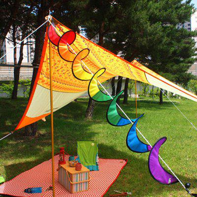 Rainbow Colorful Windmill-like Wind Flag Spinner OrnamentOutdoor Fun &amp; Sports<br>Rainbow Colorful Windmill-like Wind Flag Spinner Ornament<br><br>Age: 6 Years+<br>Applicable gender: Unisex<br>Design Style: Other<br>Features: Decoration<br>Gender: Unisex<br>Material: Polyester<br>Package Contents: 1 x Ornament<br>Package size (L x W x H): 25.00 x 23.00 x 2.00 cm / 9.84 x 9.06 x 0.79 inches<br>Package weight: 0.0480 kg<br>Product size (L x W x H): 110.00 x 22.00 x 22.00 cm / 43.31 x 8.66 x 8.66 inches<br>Product weight: 0.0360 kg<br>Small Parts: No<br>Type: Ornament<br>Washing: Yes