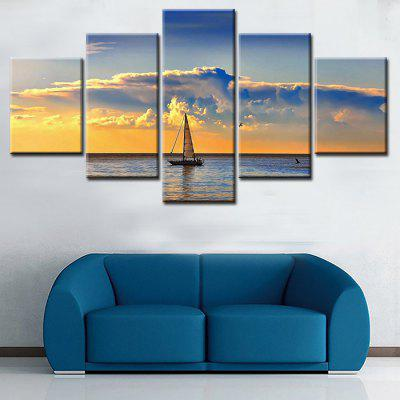 Jingsheng Seascape Canvas Print 5PCSPrints<br>Jingsheng Seascape Canvas Print 5PCS<br><br>Brand: Jingsheng<br>Craft: Print<br>Form: Five Panels<br>Material: Canvas<br>Package Contents: 5 x Print<br>Package size (L x W x H): 33.00 x 5.00 x 5.00 cm / 12.99 x 1.97 x 1.97 inches<br>Package weight: 0.2300 kg<br>Painting: Without Inner Frame<br>Product weight: 0.1800 kg<br>Shape: Vertical<br>Style: Modern<br>Subjects: Seascape<br>Suitable Space: Bathroom,Bedroom,Kids Room