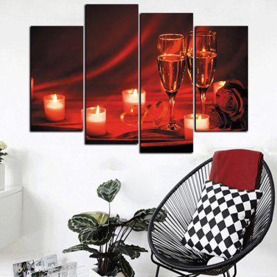God Painting Unframed Valentine Candle Canvas Print 4pcsPrints<br>God Painting Unframed Valentine Candle Canvas Print 4pcs<br><br>Brand: God Painting<br>Craft: Print<br>Form: Four Panels<br>Material: Canvas<br>Package Contents: 4 x Print<br>Package size (L x W x H): 42.00 x 6.00 x 6.00 cm / 16.54 x 2.36 x 2.36 inches<br>Package weight: 0.3800 kg<br>Painting: Without Inner Frame<br>Product size (L x W x H): 120.00 x 80.00 x 0.10 cm / 47.24 x 31.5 x 0.04 inches<br>Product weight: 0.3400 kg<br>Shape: Vertical<br>Style: Modern / Contemporary<br>Subjects: Others<br>Suitable Space: Bedroom,Dining Room,Living Room