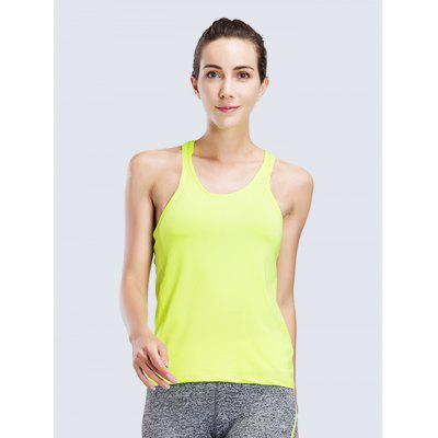 BARBOK Women Sleeveless Yoga Gym Tank TopYoga<br>BARBOK Women Sleeveless Yoga Gym Tank Top<br><br>Brand: BARBOK<br>Features: Breathable, High elasticity, Quick Dry<br>Gender: Female<br>Material: Spandex, Polyester<br>Package Content: 1 x Tank Top<br>Package size: 36.00 x 27.00 x 2.00 cm / 14.17 x 10.63 x 0.79 inches<br>Package weight: 0.0900 kg<br>Product weight: 0.0880 kg<br>Type: Vest