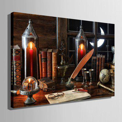 E - HOME LED Luminous Prints Desk Canvas Wall ArtPrints<br>E - HOME LED Luminous Prints Desk Canvas Wall Art<br><br>Brand: E-HOME<br>Craft: Print<br>Form: One Panel<br>Material: Canvas<br>Package Contents: 1 x Print<br>Package size (L x W x H): 55.00 x 75.00 x 6.00 cm / 21.65 x 29.53 x 2.36 inches<br>Package weight: 1.5000 kg<br>Painting: Without Inner Frame<br>Product size (L x W x H): 50.00 x 70.00 x 2.40 cm / 19.69 x 27.56 x 0.94 inches<br>Product weight: 1.2000 kg<br>Shape: Horizontal<br>Style: Modern<br>Subjects: Others<br>Suitable Space: Living Room