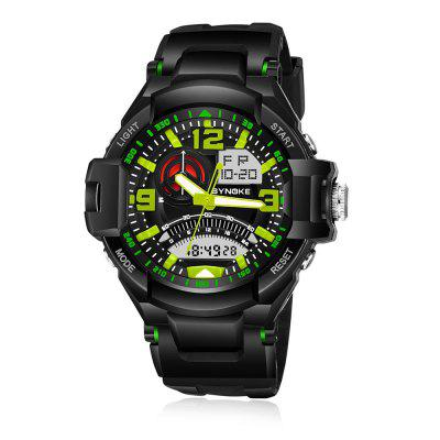 SYNOKE 67876 Men Outdoor Sporty Digital Quartz Watch