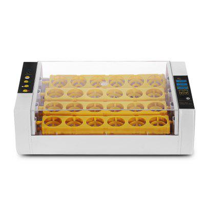 Temperature Humidity Display Poultry Egg Incubator 24
