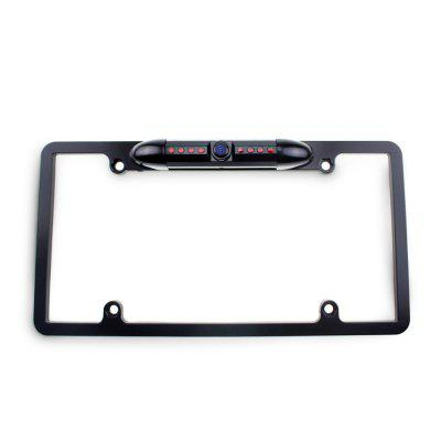 Universal Car Rear View Camera License Plate Frame